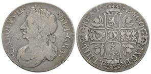 World Coins - Scotland - Charles II - 1682 - Dollar