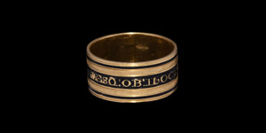 Post Medieval Gold John Enys, High Sheriff of Cornwall, Memento Mori Ring