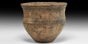 Neolithic Decorated Vessel