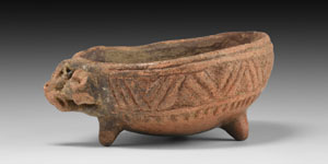 Amlash Decorated Vessel