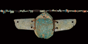 Egyptian Winged Scarab Necklace