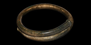 Very Large Bronze Age Decorated Arm-Ring