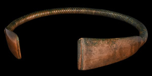 Bronze Age Twist Decorated Neck Torc