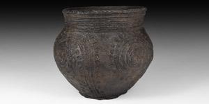 Stone Age Corded Ware Culture Vessel
