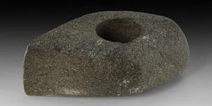 Stone Age Corded Ware Pierced Axehead