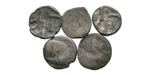Celtic Iron Age Coins - Durotriges - Silver Quarter Staters Group [5]