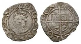 English Tudor Coins - Henry VIII - London - Facing Bust Penny