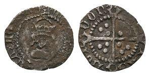 English Tudor Coins - Henry VIII - London - Halfpenny