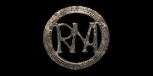 Roman Silver ROMA Monogram Belt Buckle