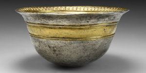 Greek Gilt Silver Palm Cup