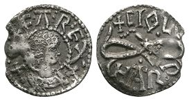 Anglo-Saxon Coins - Offa - London / Ciolhard - Light Coinage Serpent Penny