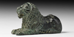 Western Asiatic Lion Statuette