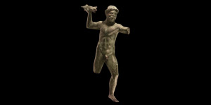 Roman Jupiter Statuette