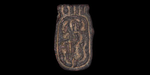 Egyptian Amulet with Cartouche