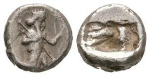 Ancient Greek Coins - Lydia - Persian Kings - Archer Siglos