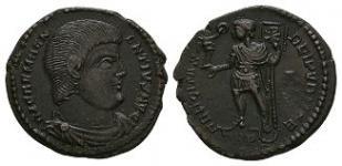 Ancient Roman Imperial Coins - Magnentius - Emperor Standing Maiorina