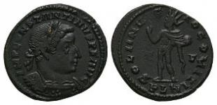 Ancient Roman Imperial Coins - Constantine I (the Great) - London - Sol Follis