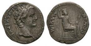 Ancient Roman Imperial Coins - Tiberius - Tribute Penny Denarius