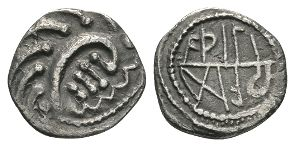 Anglo-Saxon Coins - Primary Phase - Aethelred - Runic Sceatta