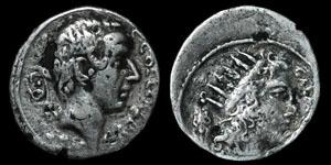 Roman Republic - C. Coelius Caldus - AR Denarius