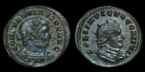 Roman Empire - Constantine I - AE light follis