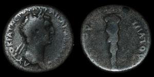 Roman Empire - Nerva - AR Didrachm - Capadoceia