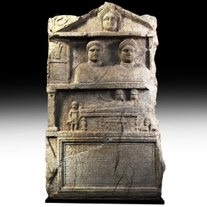 Roman Monument to Senator Apellinarius and Kallisti