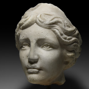 Head of Goddess or Nymph