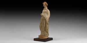 Large Greek Terracotta Taranto Figurine