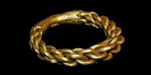 Viking - Gold Twist Ring