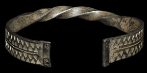 Viking - Silver Part-Twist Bracelet