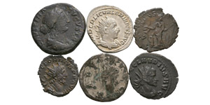 Ancient Roman Imperial Coins - Mixed Issues - Salus Antoninianii and Bronzes [6]