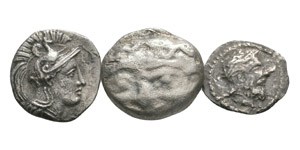 Ancient Greek Coins - Sicily - Akragas - Small Silvers [3]