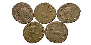 Ancient Roman Empire Coins - Gallienus - Antoninianii [5]