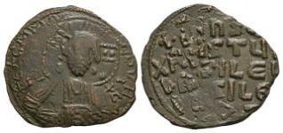 Basil II and Constantine VIII - Class A2 Anonymous Follis