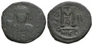 Maurice Tiberius - M Follis