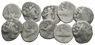 Ancient Greek Coins - Euboea - Histiaea Tetrobols [10]