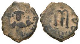 World Coins - Arab-Byzantine - Pseudo Facing Bust Fals