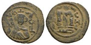 World Coins - Arab-Byzantine - Facing Bust Fals