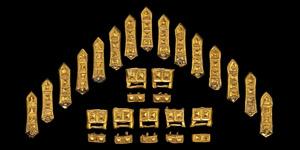 Viking Period Gold Belt Fitting Set