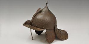 Civil War Type - Steel Lobster Tail Helmet