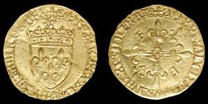 Medieval France - Francis I - Ecu DOr aux Soleil - Bayonne