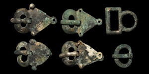 Viking Silver Buckle Group