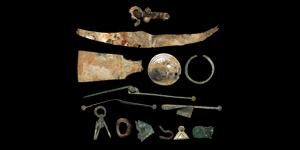 Viking Silver and Bronze Artifact Collection