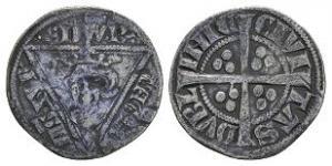 World Coins Ireland - Edward I - Dublin - Long Cross Penny