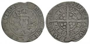 English Medieval Coins - Henry VI - Calais - Annulet Groat