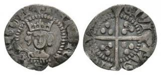 English Medieval Coins - Henry VI - London - Annulet Halfpenny