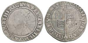 English Tudor Coins - Elizabeth I - Shilling