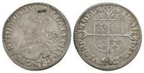 English Tudor Coins - Elizabeth I - 1562 - Milled Sixpence