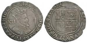 English Stuart Coins - James I - Shilling